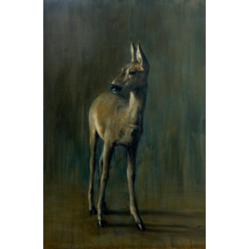 Animal Art Gallery paris - Jeune Chevreuil - Igor Ly